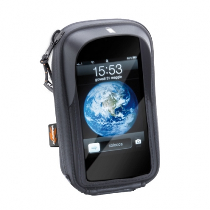 Torba ETUI na GPS, Smartphone Kappa IPHONE 5 z mocowaniem na kierownicę - KS955