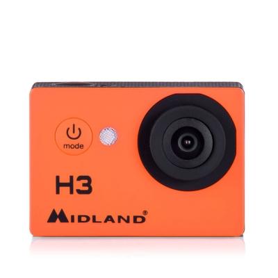 Kamera sportowa Midland H3 C1235 Orange, Pomarańczowa