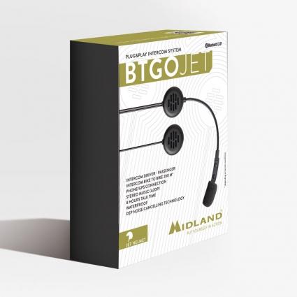 Interkom Midland BT Go Jet Plug & Play C1310
