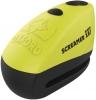Blokada tarczy hamulcowej OXFORD XA7 z *ALARMEM* 100dB - LK280 Yellow, Żółta