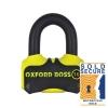 Blokada tarczy hamulcowej OXFORD BOSS16 - LK316 Yellow, Żółta