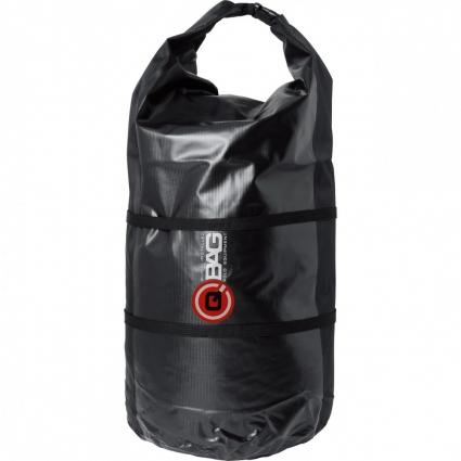 Torba Wałek na motocykl QBAG TREKKING BAG Black, Czarna 65 litrów