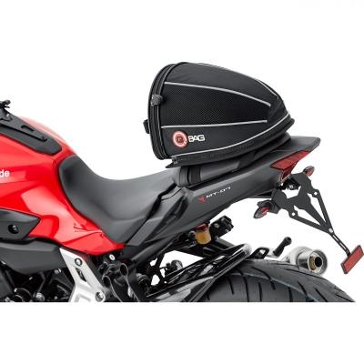 Torba na motocykl QBAG Tail bag 06 Black, Czarna