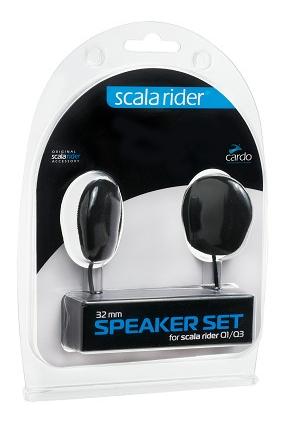 Speaker Set CARDO głośniki 32mm do interkomów Q1/Q3/G9x/PACKTALK/SMARTPACK