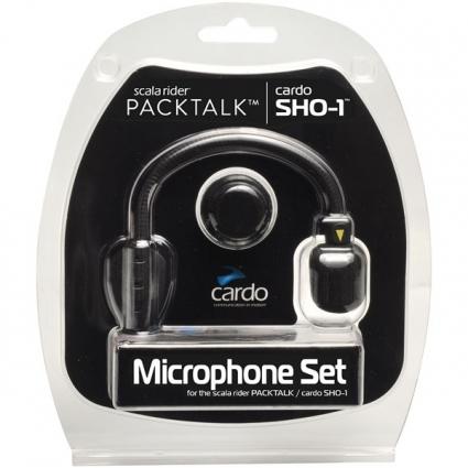 Komplet mikrofonów CARDO do interkomów SHO-1 (hybrydowy i integralny)