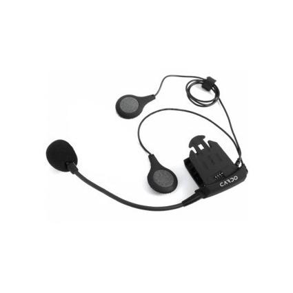 Audio kit XL CARDO głośniki z okablowaniem i mikrofonem do interkomów (Solo, FM, TeamSet, Q2)
