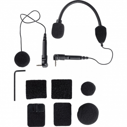Komplet mikrofonów CARDO do interkomów G9x (hybrydowy i integralny)