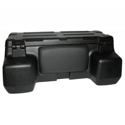 Kufer z siedzeniem na bagażnik SHARK ATV Topcase Black, Czarny 81 litrów L8015