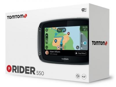 Nawigacja motocyklowa TOMTOM Rider 550 Premium Pack