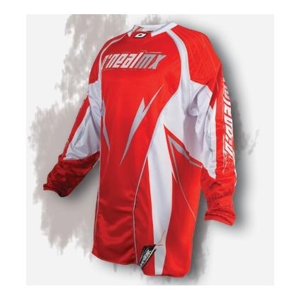 Bluza O'NEAL Hardwear 08 Red/White/Maroon, Czerwona/ Biała - PROMOCJA
