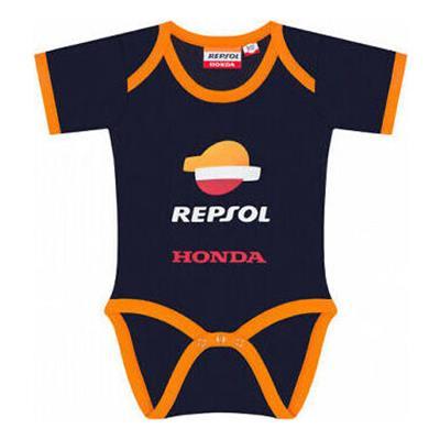 Body dla niemowlaka Repsol Honda KIDS Baby Body - Blue/Orange, Niebieskie/Pomarańczowe - REP1988501