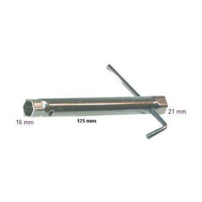 Klucz do świec 16/21mm (gwint św. 10 i 14 mm), dł. 115 mm