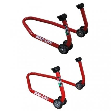 Zestaw podnośników do motocykla Bike-Lift - FS-10, RS-17 z adapterami SAC-10, SAF-10N
